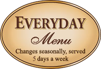 everyday menu
